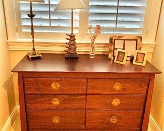 "$275 Six drawer chest 32""H x 21""D x 51""W"