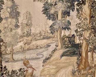 Detail: Hanging tapestry
