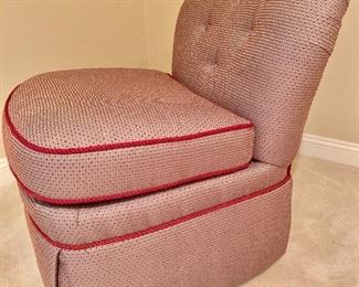 """Side view of Chair 33""""H x 37""""D x 31""""W"""