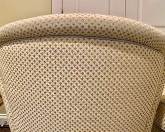 Detail: Back of chair