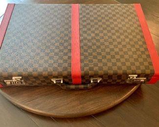$225 Replica Louis Vuitton case with 3 unopened serving trays