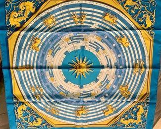 Detail :Hermes zodiac scarf