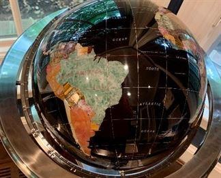 Detail:  Standing Globe