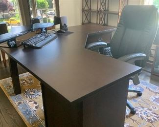 Home office desk & chair