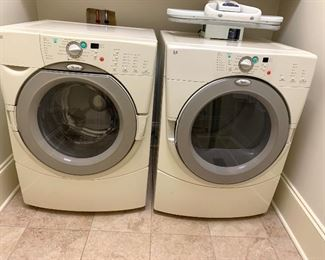 Front load washer & dryer (electric) by Whirlpool