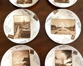 set of 16 dessert plates