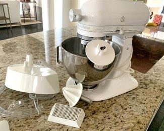 "KitchenAid ""Ultra Power"" mixer"