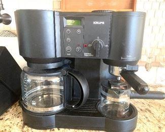 Krups cappuccino and espresso maker
