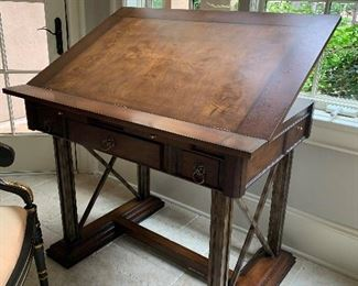 Drafting table (open position)