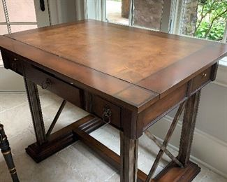 Drafting table (closed/down position)