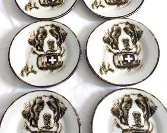 set of 12 dessert plates by Pottery Barn