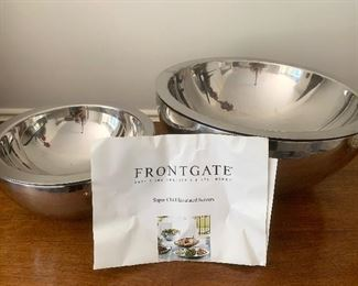 Insulated serving bowls by Frontgate