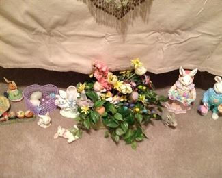 Just s small portion of Easter decor