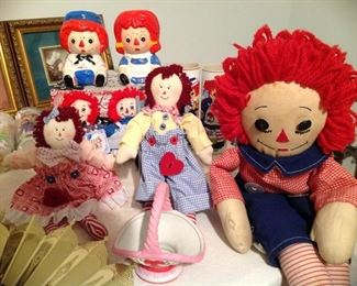 Raggedy Ann and Andy collection