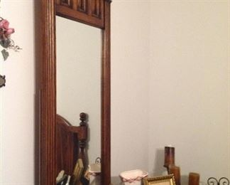 Mirror and lots of picture frames