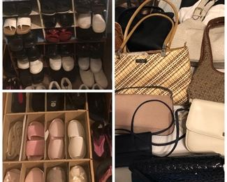 More shoes, slippers and purses