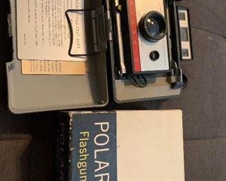 Vintage 60's Polaroid with flash $50