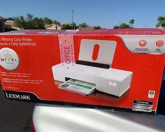 Wireless Lexmark printer $35
