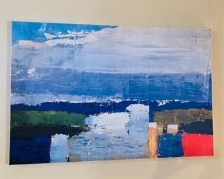Large print on canvas -$45