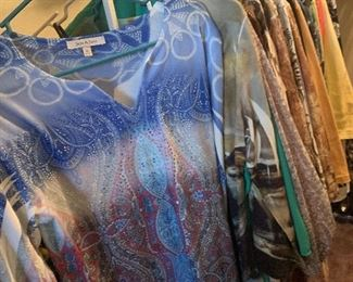 Name brand apparel $2 each Women's size medium