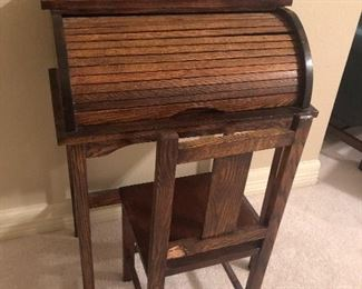 Childs Roll Top Desk