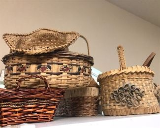 Hand Crafted Baskets