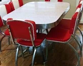 Retro Dinning Chairs and Table