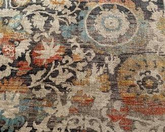 Modern room sized rug