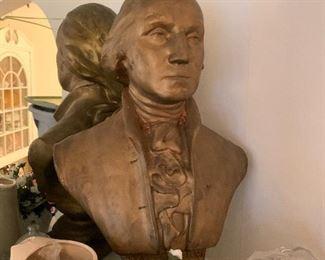 George Washington bust