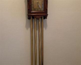 Door bell with built in clock