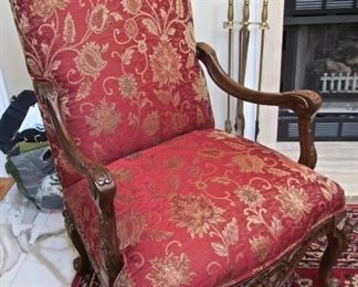 HIGH BACK UPHOLSTERE4D CHAIR