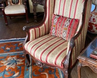 French Bergere chair                            400.00