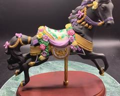 The Midnight Charger Carousel Horse by Lenox