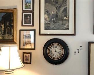Clock & keys