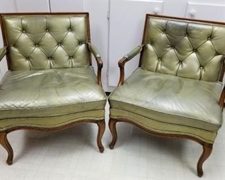 Chairs Pearl Green