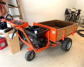 DR Powerwagon  dump wheelbarrow