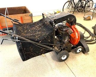 DR Pro leaf vacuum