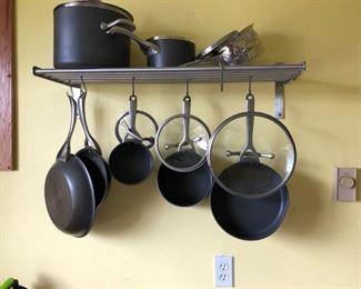 Pot and pan set.