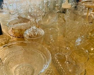 Cut Glass, Glassware