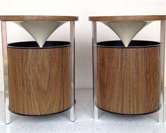 Mid Century Modern Zenith Floor Speakers