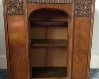Burled Wood Cabinet