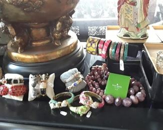 Bangles, cuffs, necklaces, and more. 50% off on most, but not all jewelry.