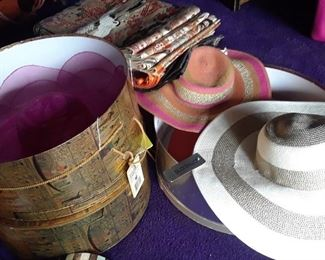 Elegant sun hats as well as practical hats and western styles.