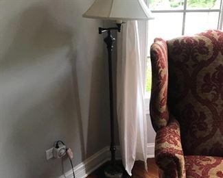 1 of 3 matching floor lamps