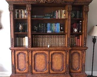 Beautiful & elegant Walter E Smithe bookcase