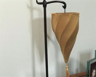 1 of 2 matching unique lamp