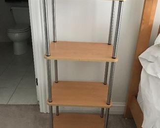 1 of 3 shelving units