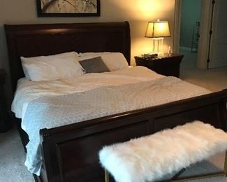 Thomasville King size bed