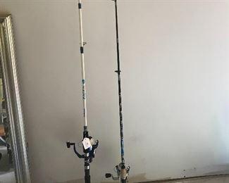 Shakespear fishing rod & reels