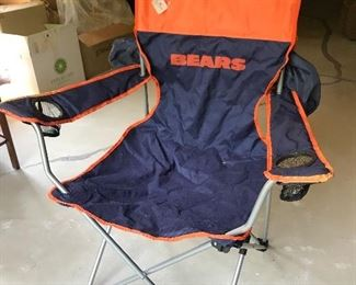 Bears collapsible chair